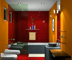 bathroom luxury master with yellow wall paint ideas and bathroom luxury master with yellow wall paint ideas and red full tile decoration surrounded bathtubs area attractive recessed lighting