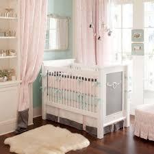 Silk Crib Bedding Set Curtains Amazing Baby Pink Curtains Baby Nursery Gorgeous