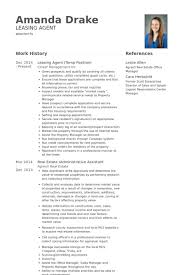 Resume Sample For Real Estate Agent by Leasing Agent Resume Samples Visualcv Resume Samples Database