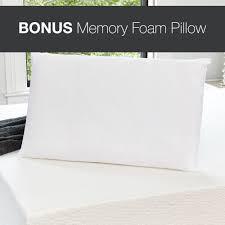 modern sleep cool gel ventilated gel memory foam 10 5 inch