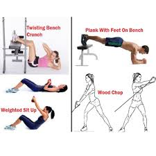 Bench Abs Workout Abs Workout For Women 8 Weeks To A Flatter Stomach
