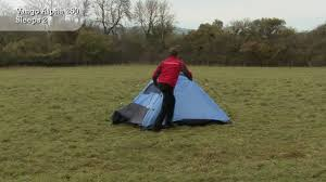 vango alpha 250 tent pitching video youtube
