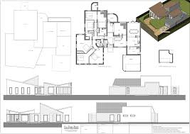 bed and breakfast design drawings and visualisation slide title