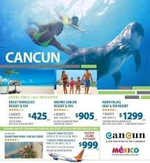 promotions cancun summer vacation deals all inclusive vacation