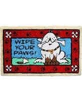 Buy Artsy Doormats Wipe Your On Sale Now 9 Off Apache Mills 925 0894 Wipe Your Paws Door Mat