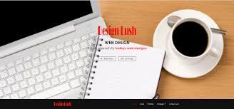 desien designer lush web design