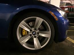 e92 painted my calipers yellow bmw