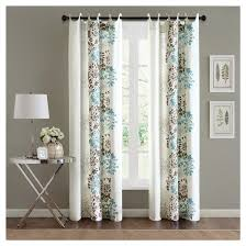 Turquoise And Brown Curtains Turquoise And Brown Curtains Beautiful Blue Curtain
