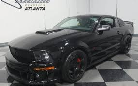 2008 Black Ford Mustang Ford Mustang Roush For Sale Autabuy Com