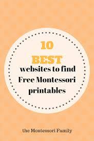 printable montessori curriculum 10 best websites to find montessori free printable documents