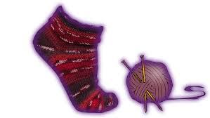 knitting pattern for socks using circular needles wooly simple sock knitting tutorial 2 needles youtube