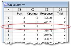 Attribute Gage R R Excel Template Expanded Gage R R Studies In Minitab Minitab