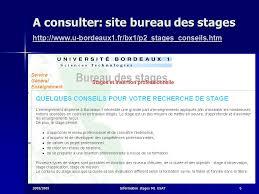 bureau des stages information stages master gsat 1ere ée ppt télécharger
