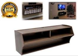 Wall Mount Tv Stand With Shelves Wall Mount Tv Stand Media Center Audio Video Console Shelf