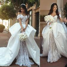 garden wedding dresses cheap retro lace garden wedding dresses 2018 the shoulder