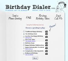 birthdaydialer send free singing birthday telegrams by phone