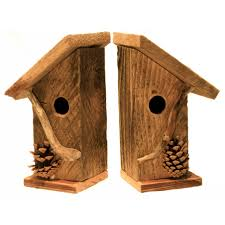 birdhouse bookends whimsical woods