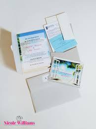 Beach Theme Wedding Invitations South Beach Themed Wedding Stationary Suite U2014 Nicole Williams