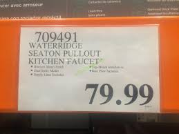 wr kitchen faucet water ridge style kitchen faucet costcochaser