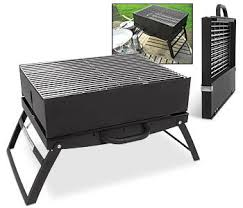 more grilling on the go flat folding bbq treehugger