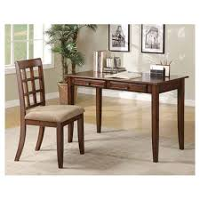 desk and chair set bay isle home eanes writing desk and chair set reviews wayfair