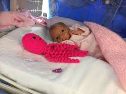 this crochet octopus helped save the lives of premature twins