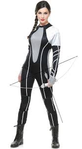 jumpsuit costume jumpsuit costume tribute district costume silver and