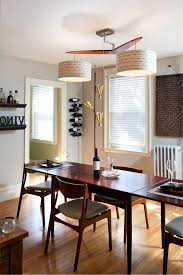 imaginative orange dining chairs with light wood floor black drapes