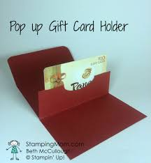 gift card holder pop up gift card holders sting