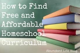 free homeschool curriculum resources archives money how to find free and inexpensive homeschool curriculum abundant life