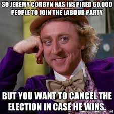 New Memes Today - jeremy corbyn inspires new labour party members meme political