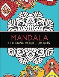 mandala coloring book kids big mandalas color