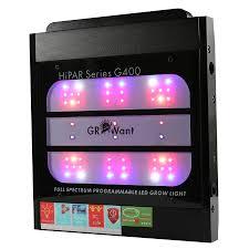 is full spectrum lighting safe intelligent led grow panel osram 400w full spectrum growant g400pro