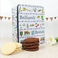 brilliantly biscuit tin by milly green