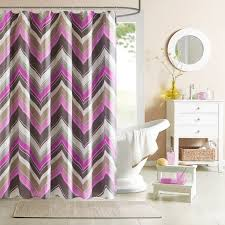 Chevron Pattern Curtains Mesmeriing Black And White Color Block Curtains Style For Calming