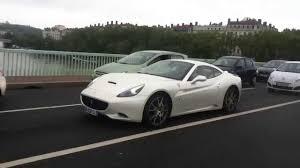 Ferrari California 2013 - 2013 ferrari california f1 acceleration in lyon youtube