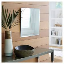 Frameless Photo Square Frameless Decorative Wall Mirror Threshold Target