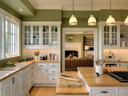 wooden floor in kitchen country style