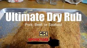 secret dry rub recipe for pork ribs beef brisket or seafood bbq