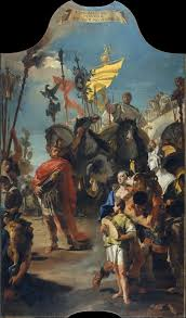 Met Museum Floor Plan by Giovanni Battista Tiepolo The Triumph Of Marius The Met