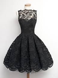 klshort black dresses black lace prom dresses black homecoming graduation