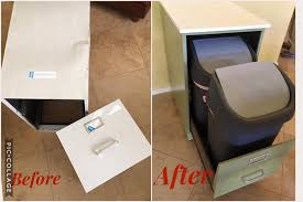 repurpose metal file cabinet how an old file cabinet can solve your biggest kitchen problem