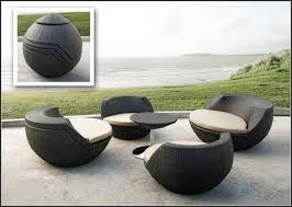 Modern Wicker Furniture by Modern White Wicker Outdoor Furniture Patios Home Decorating
