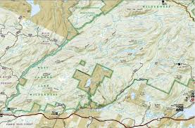 Canada Forest Fire Map by West Canada Lakes Wilderness
