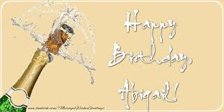 happy birthday abigail greetings cards for birthday for