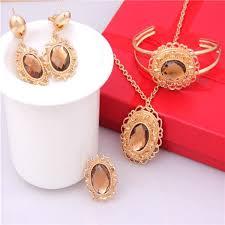 saudi arabia gold earrings 2018 dubai gold plated jewelry set saudi arabian jewelry set