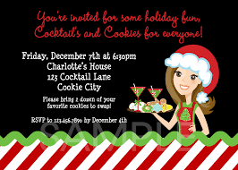 christmas cocktails invite funny cocktail party invitation wording invitation card gallery