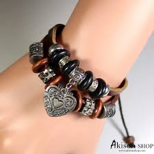 infinity charm leather bracelet images Women 39 s anchors love and infinity leather wrap bracelet jpg