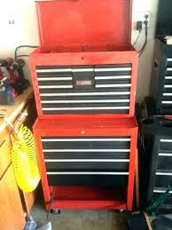 Kennedy Tool Box Side Cabinet Tool Boxes Us General Tool Box With 2 Side Cabinets Tool Chest