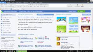templates for wps office android kingsoft office review refreshing